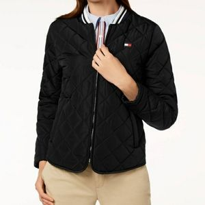 Tommy Hilfiger Sport Quilyed Navy blue jacket